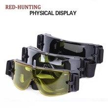 USMC для страйкбола X800 тактические очки для велосипедистов военные игровые очки ветрозащитные взаимозаменяемые 3 объектива