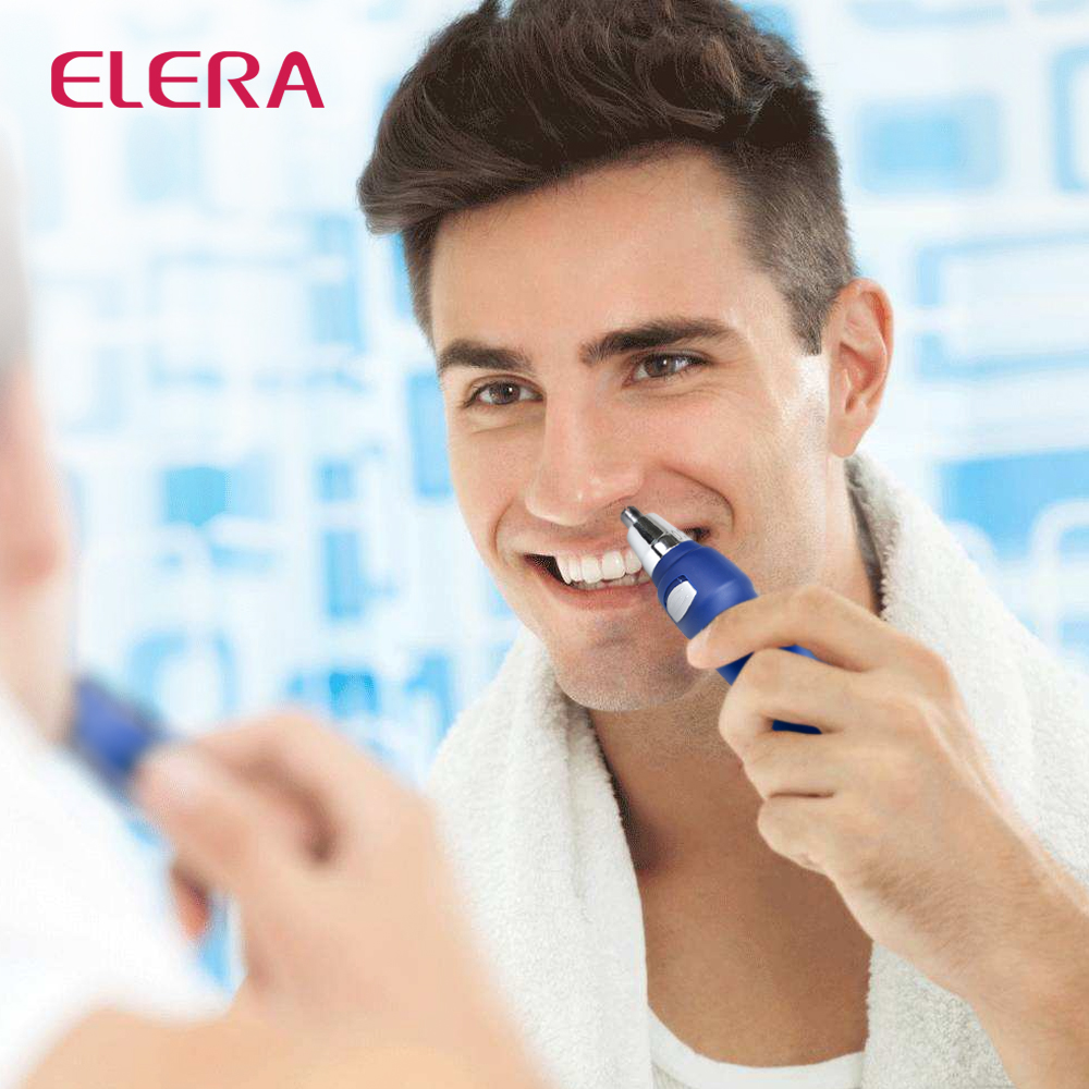 High Quality Electric Ear Nose Hair Trimmer Removal Washable Hair Trimmer Shaver Clipper Cleaner for Men and Women in Nose Ear Trimmer from Beauty Health