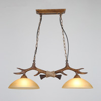 Indoor Antlers Chandelier For European Country Living Room Xmas Decoration Lamp Luminarias Para Sala De Jantar Ceiling Pendant