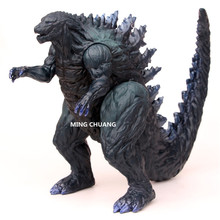 Movie Shin Godzilla 22CM Godzilla Huge Monster MUTO Monstrous Creature Blue Tail PVC Action Figure Collectible Model Toy W30