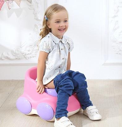 Baby boys sit implement children toilet girls big bedpan stool infant children implement ...