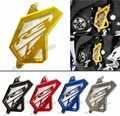 Aluminum Front Sprocket Chain Guard Cover Left Side Engine For Yamaha YZF R3 R25 2014 2015 2016