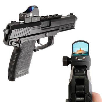 Doctor Micro Red Dot Reflex Sight Airsoft Tactical Holographic Sight Riflescope Rifle Air Gun Optics Hunting Scopes 3