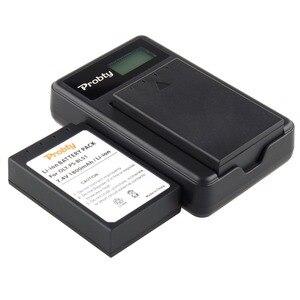 Image 2 - PROBTY 2 pièces PS BLS1 Batterie + Chargeur LCD pour Olympus Evolt E 410 E 420 E 450 E 600 E 620 & STYLO E P1 E P2 E P3 E PL1 E PL3 E PM1