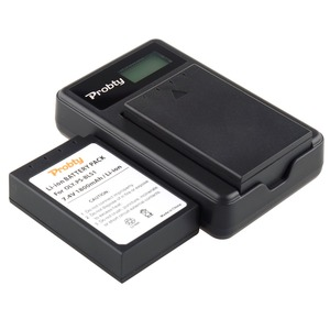 Image 2 - PROBTY 2 stücke PS BLS1 Batterie + LCD Ladegerät für Olympus Evolt E 410 E 420 E 450 E 600 E 620 & STIFT E P1 E P2 e P3 E PL1 E PL3 E PM1