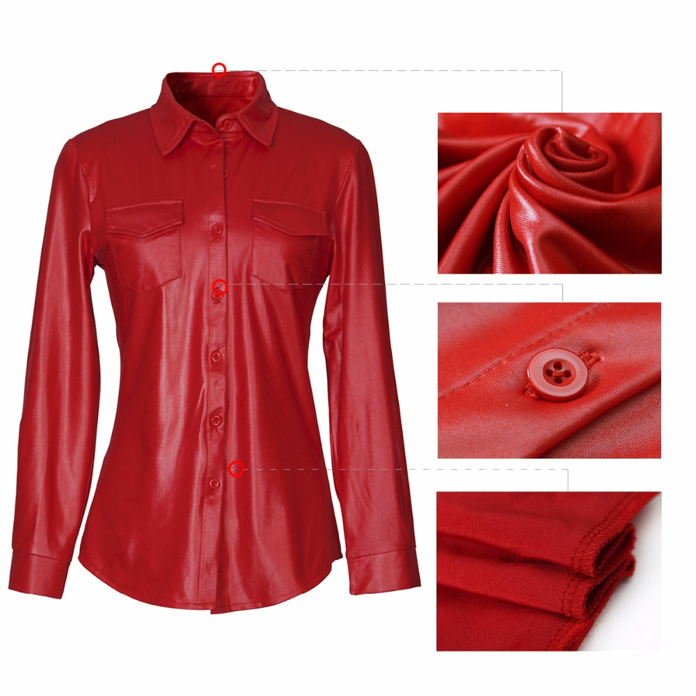 XL Pu leather jacket 2018 New style Casual Suede Womens Jacket Long Sleeve Women button Coats Autumn Winter Coats Outerwear