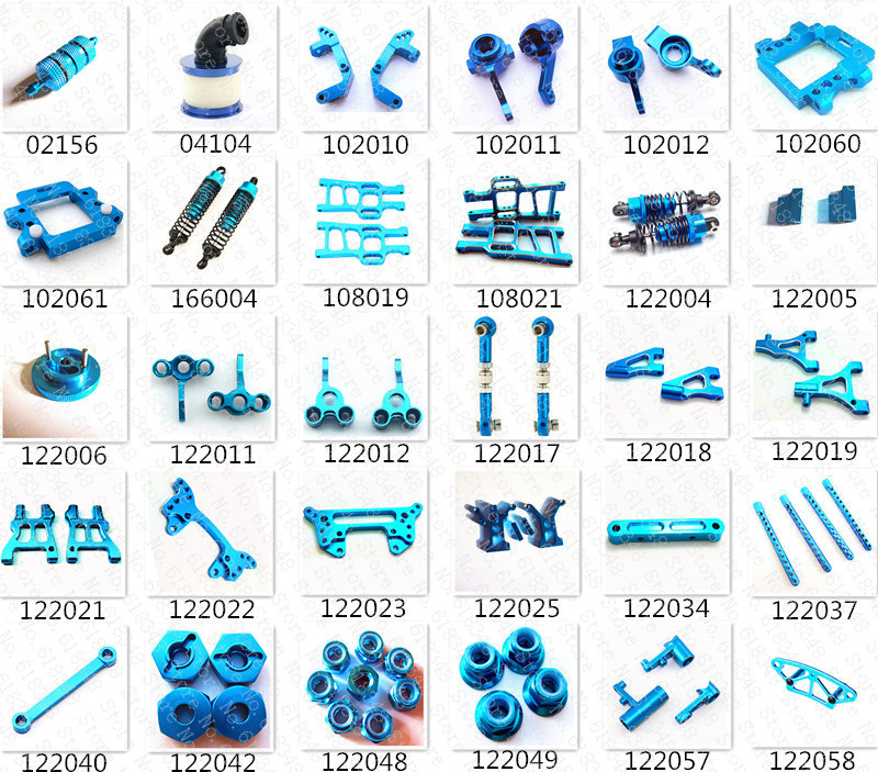 HSP Baja Upgrade Parts Upgrades Spare Parts Accessories Aluminum Alloy For 1/10th 4WD R/C Model Car RC On/Off /Road Buggy Truck