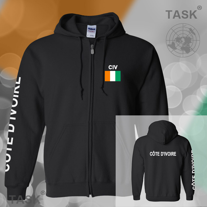 Ivory Coast Ivorian Ivoirian font b mens b font hoodies and sweatshirt casual font b polo
