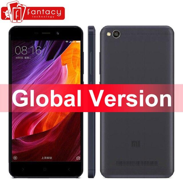 """Global Version Xiaomi Redmi 4A 4 A Smartphone Snapdragon 425 Quad Core 2G RAM 16G ROM FDD LTE 4G 5"""" 13MP 1280x720p MIUI 8.5 OTA"""
