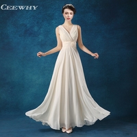 Champagne Floor Length Off The Shoulder Bridesmaid Dresses Long Chiffon Wedding Party Dress Mother Of The