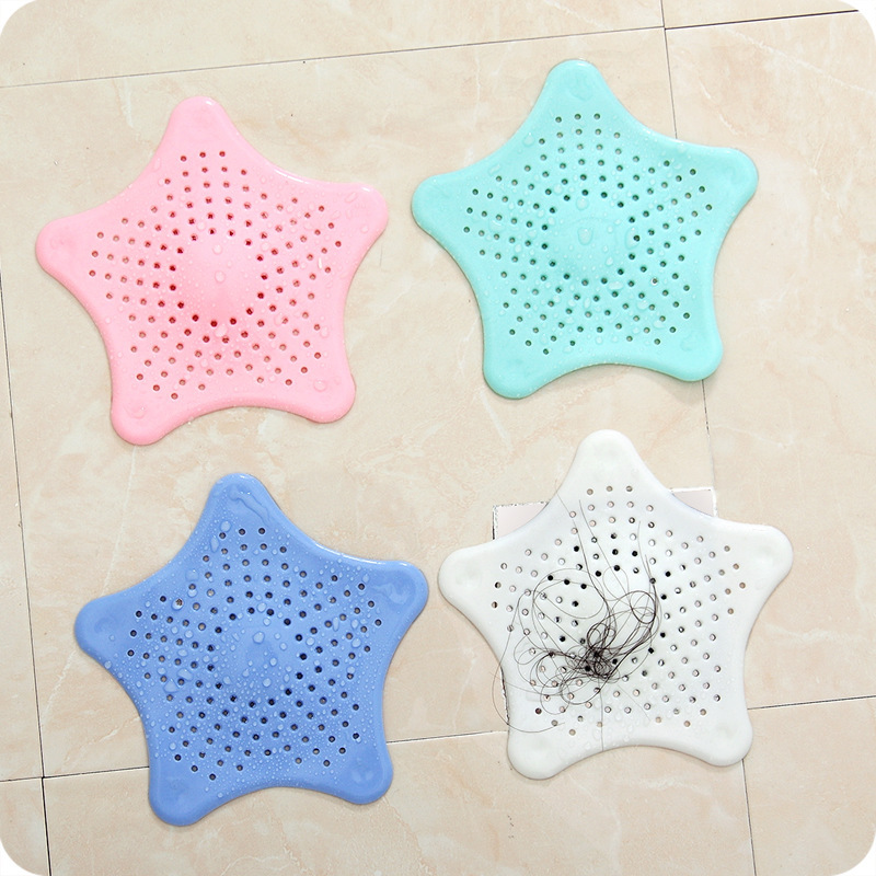 Silicone Sink Filter Bathroom Drain Hair Catcher Stopper Silicone Colander Filter Strainer for Toilet Bathroom Kitchen Gadget in Colanders Strainers from Home Garden