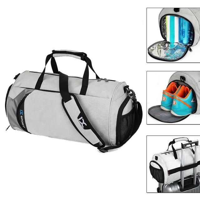 Waterproof Shoulder Sport Gym Bag For Shoes Storage Women Fitness Yoga Training Bags Men S Gymnastic Handbag