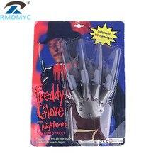 Новинка 1 шт. игрушечные мечи персональные перчатки Фредди когти модные костюмы на Хэллоуин реквизит партия поддерживает Поставки аксессуары игрушки подарки