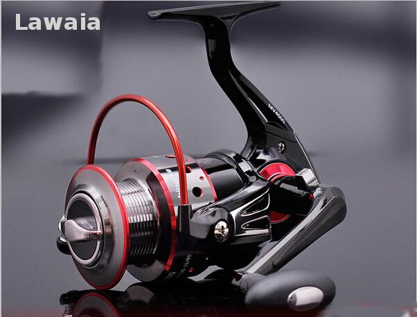 Lawaia12 Axis 6000 Series fishing Reel Spinning Aluminium Fly Spining Fishing Rod Fish Lures Japan Carp Coil