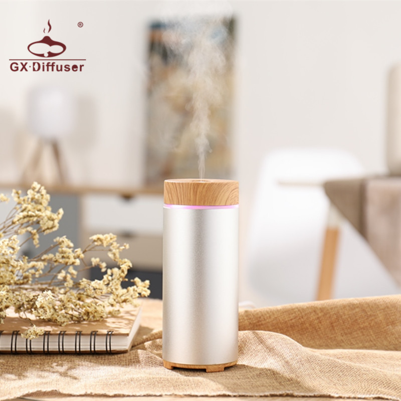 GX.Diffuser 150ml Newest Car USB Portable Aroma Diffuser Essential Oil Humidifier Aromatherapy Mini Air Purifier for Home Office portable mini air humidifier purifier night light with usb for home office decorations