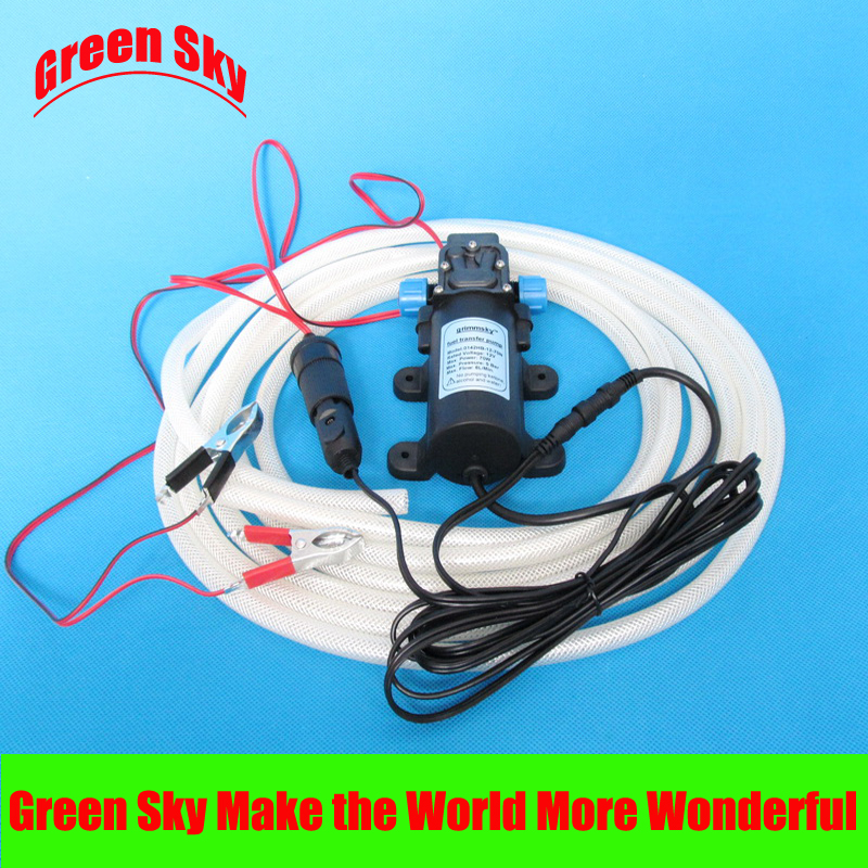 6L/Min. 12V 70W Vehicle Mounted Kits Diesel Fuel Pump For Petrol Feed,Explosion-Proof Gasoline Pump,Draw Engine Oil