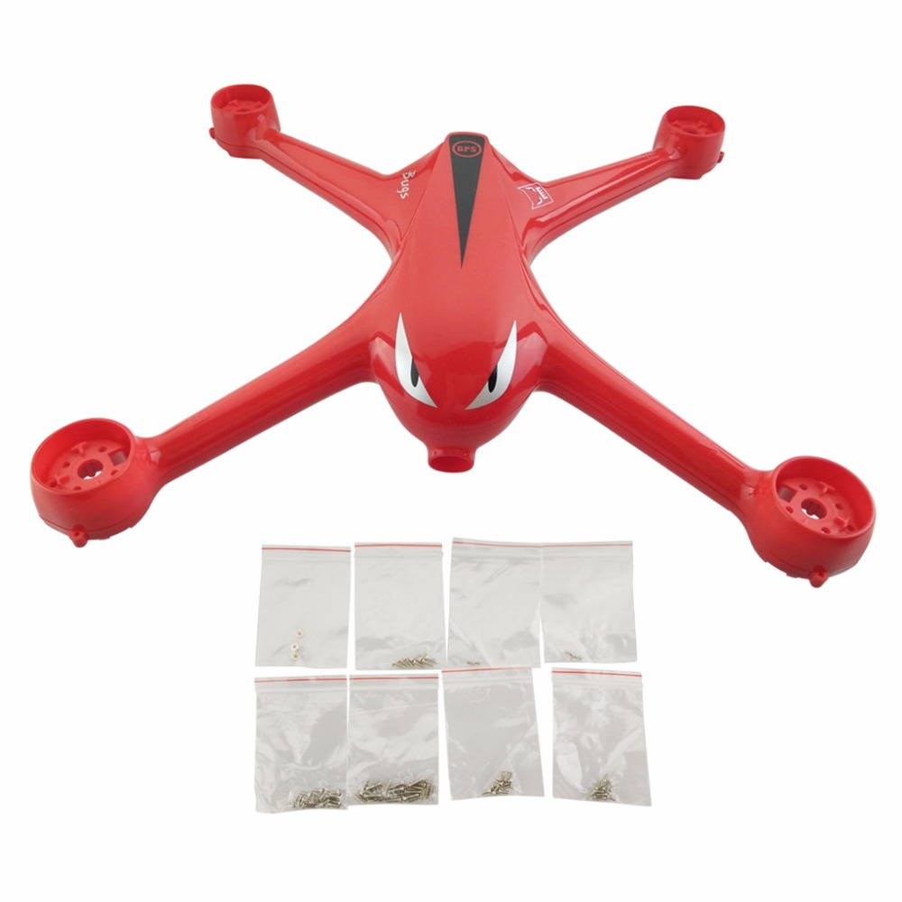 MJX B2C B2W Bugs 2 D80 F18 Brushless Quadcopter Body Accessories UAV Case with Screws Red