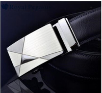 The triangle black man leather belt