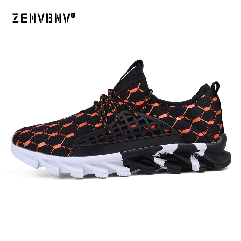 Zenvbnv Super Cool Breathable Running Shoes Men Sneakers Bounce Autumn Outdoor Sport Shoes Professional Brand Training Shoes
