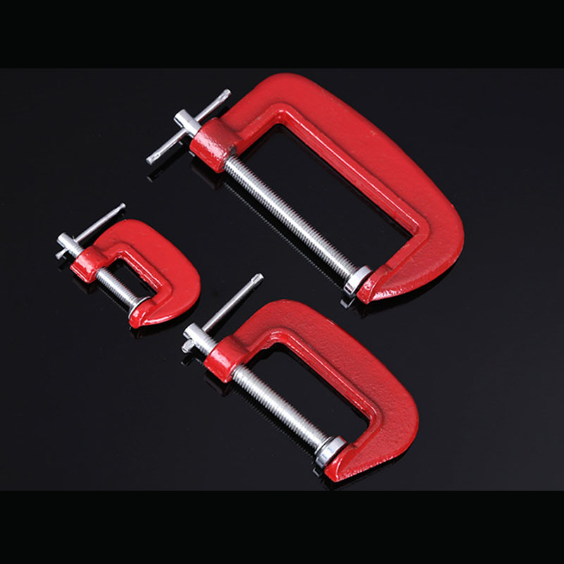 1//2//3 Inch G Type Wood Clamp Adjustable Clamping Device DIY Woodworking Gadgets