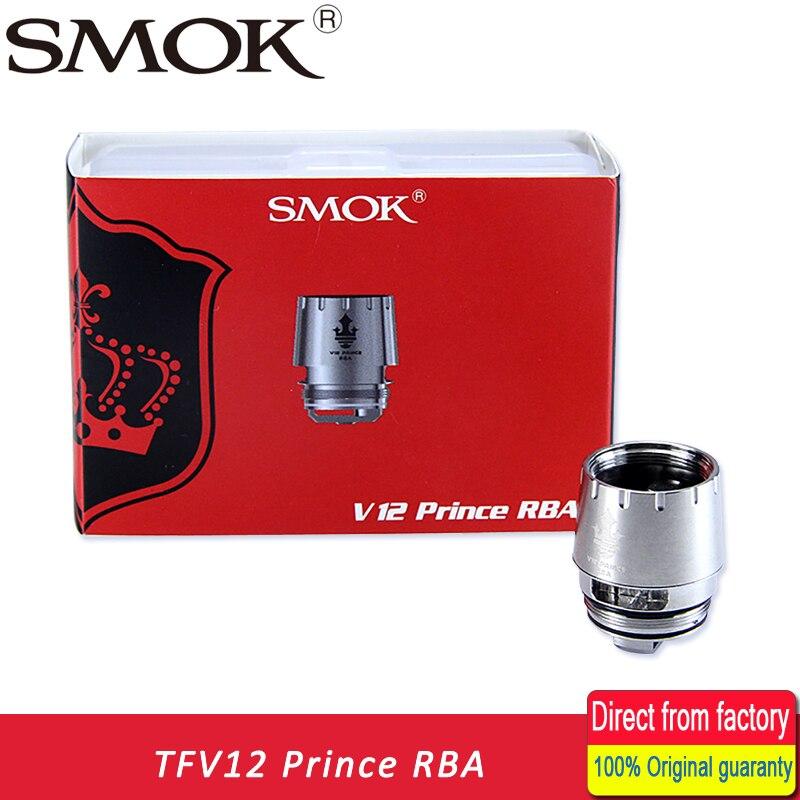 Original SMOK TFV12 PRINCE RBA Coil with resistance 0.25ohm RBA Head fit for TFV12 PRINCE TNAK/ SMOK MAG KIT/X-Priv Kit