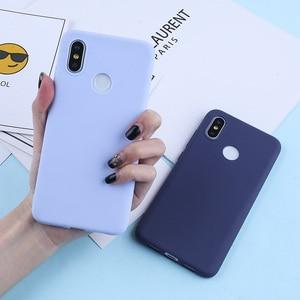Image 1 - Candy Color Case For For Xiaomi Mi 9 8 Lite Redmi Note 7 6 5 Pro 4X TPU Silicone Matte Case For Redmi 7 6 Pro 6A 5 Plus 5A 4A 4X