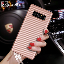 Silicone Fiber TPU Cases For Samsung Galaxy Note 8 Note8 Soft Phone Bag Case Back Covers Shell Housing For Samsung Galaxy Note 8