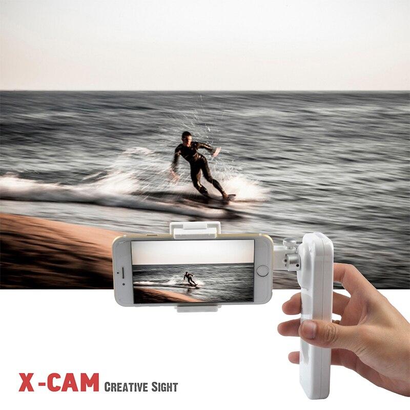 Orsda cardan smartphone portable sans fil 2 essieux téléphone Bluetooth stabilisateur de téléphone pour iphone smartphone mobile