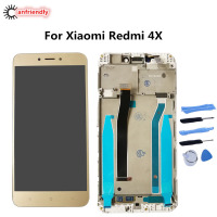 For Xiaomi Redmi 4X LCD Display Touch Screen With Frame Replacement Digitizer Assembly Glass Repair Parts