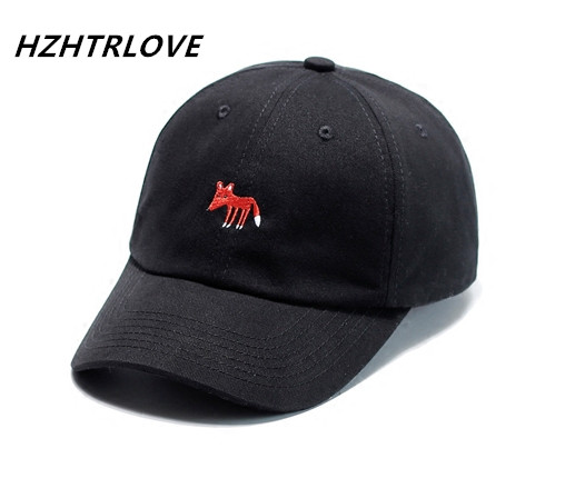 Detail Feedback Questions about High Quality Lovely Fox Baseball Caps  Cattoon Pattern Embroidery Hats For Women Men Snapback Hip Hop Caps  Casquette Gorras ... 7219d676ec0