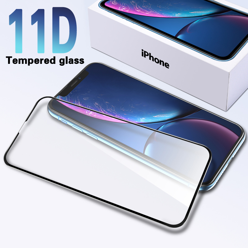 Protective Glass For IPhone 6 6S 7 8 Plus X Glass On Iphone 7 6 8 XR XS MAX Screen Protector IPhone 11 Pro Max Screen Protection