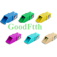 Shutter Adapter Adaptor Coupler SC-SC Simplex with Reduced Flange/flangeless GoodFtth 100pcs/lot