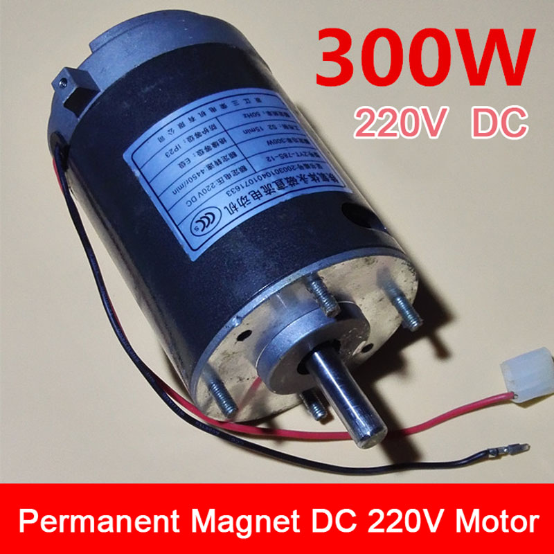 ФОТО Electric Power Tools 300W Ferrite DC 220V Motor High Power and High Torque Motor Suit for Electric Cutting Saw