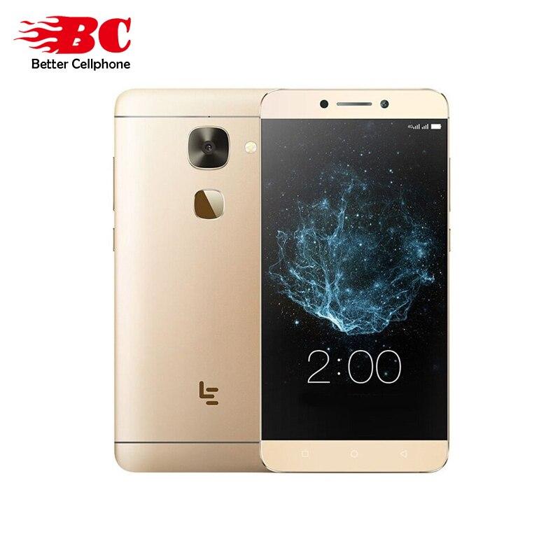 Originale LeTV LeEco Le 2x522 Android6.0 Snapdragon 652 Octa Core da 1.8 GHz 1920*1080 3000 mAh 16.MP Mobile Phone RAM 3 GB ROM 32 GB