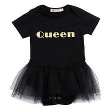 Summer Queen Baby Girl Bodysuit