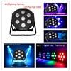 6pcs Lot American DJ LED DJ Dimmer Light Stage Uplighting LED SlimPar Tri 7 RGB 9W