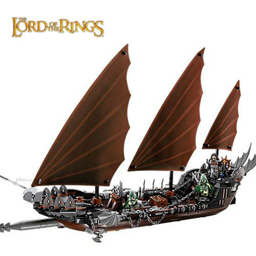 LEPIN 16018 Genuine New The lord of rings Series The Ghost Pirate Model Building Kit Block Bricks Toys Gift For Children 79008 lepin 22001 pirate ship imperial warships model building block briks toys gift 1717pcs compatible legoed 10210