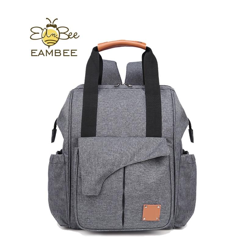 Multifunctional Mummy Maternity Nappy Bag Large Capacity Breathable Baby Bag Travel Backpack Designer Nursing Bag For Baby Care