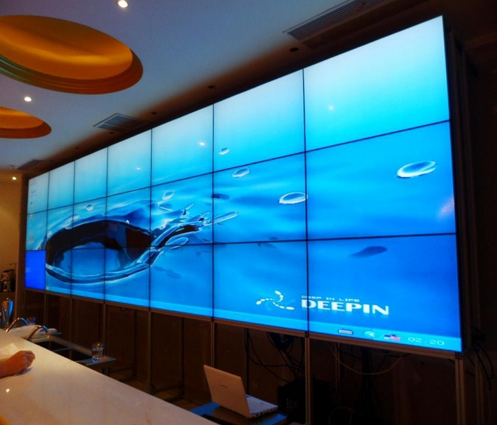 4K display supported Samsung lg DID LED LCD tft TV panel 46 47 55 inch 3x6 LCD video wall 3.5mm bezel
