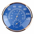 Superior qualityLarge Rodada Medidor de Temperatura Termômetro Higrômetro Medidor de Umidade Do Monitor