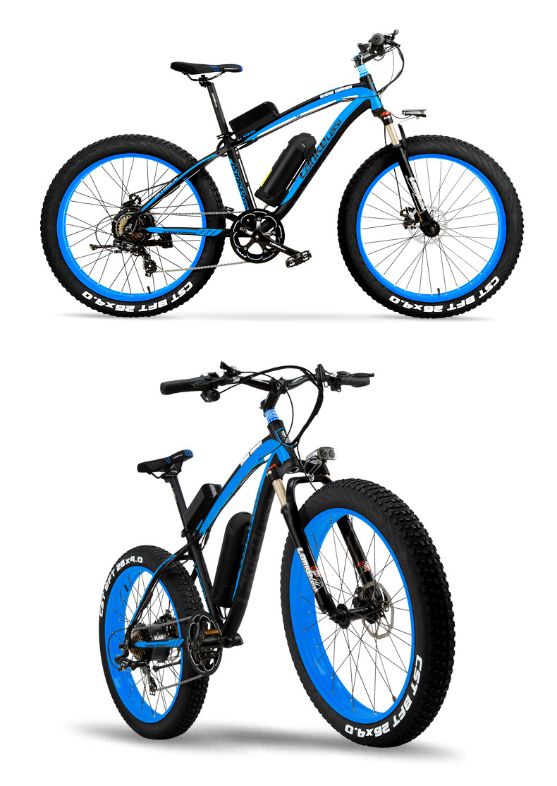 HTB1A2n cNGYBuNjy0Fnq6x5lpXaa - 1000W Pedal Help Electrical Bicycle Males's E-bike 26'' Fats Snow Bike 48V 10Ah Lithium-Ion Battery, Hydraulic Disc Brake