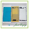 New Waterproof Glue Front +Back Adhesive Tape For Sony Xperia Z1 Compact D5503 3 pcs /Set