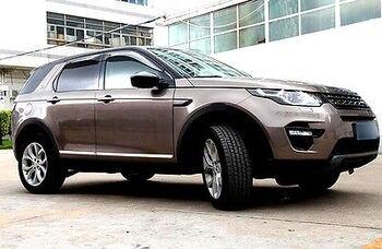 4 * Stalowe Drzwi Boczne Kształt Nadwozia Pokrywa Tapicerka Dla Land Rover Discovery Sport 15-18