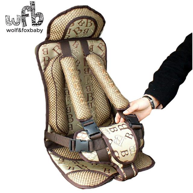 Frete Grátis & Alta Qualidade Assento de Carro Do Bebê Portátil/Criança Segura Car/Seat Crianças Safety Car 6 cores Para Crianças de 5-30 KG