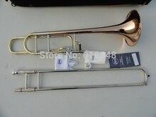 Профессиональный музыкальный инструмент Bb тенор Тромбон для студентов репликации 42BO Улучшенный сандхи тенор Тромбон с случае