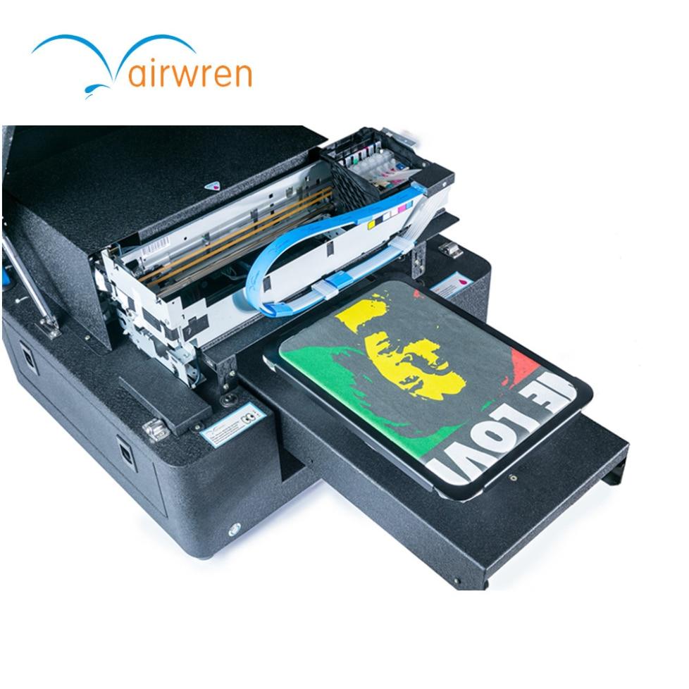 Digital Fabric Label Printer Use White Ink Popular Printing Machine