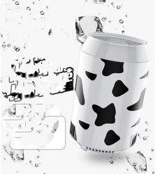 Resfriamento rápido teste padrão da vaca anel-pull pode moldar 8 W mini USB Poder frigorífico Frigoríficos 18X10.9 CM