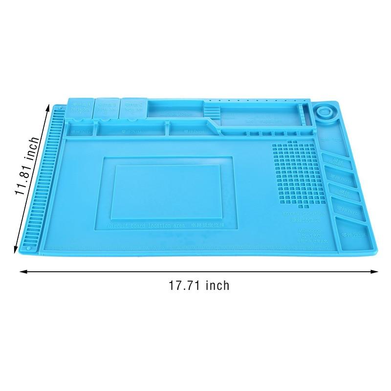Magnetinio silikono padėklo litavimo platformos stalo mobiliųjų - Įrankių komplektai - Nuotrauka 4