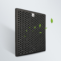 Activated Carbon Air Filter Cleaner Parts, High Efficient Composite Air Purifier Parts For TKJ F220B TKJ F210B TKJ F220A