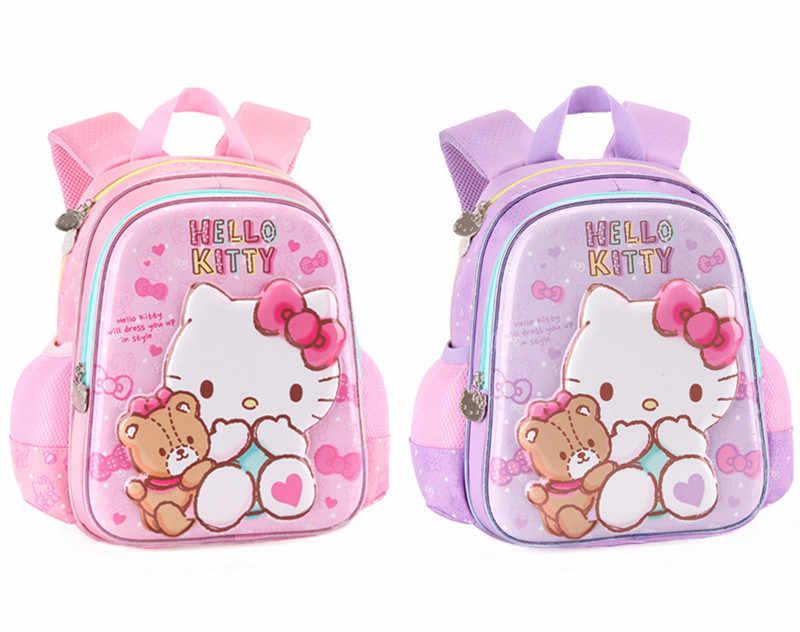 Detail Feedback Questions about Cute Hello Kitty Bag Kindergarten Preschool  Backpack Baby Kids Bag Schoolbag Rucksacks Children School Bags for Girls  on ... 7eaf5079db125